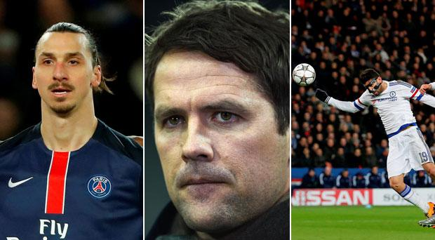 BT Sport pundit Michael Owen had some advice for Zlatan Ibrahimovic and Diego Costa