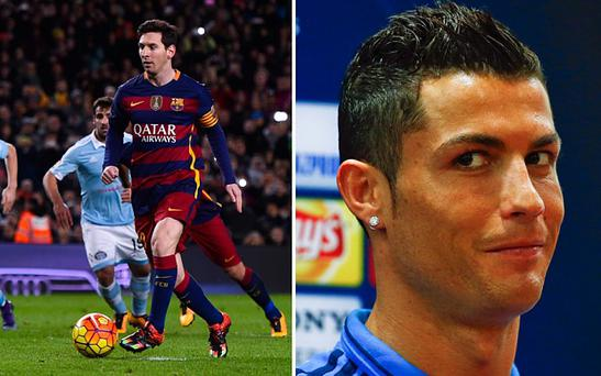 Ronaldo believes Messi was not just being selfless in passing his penalty kick