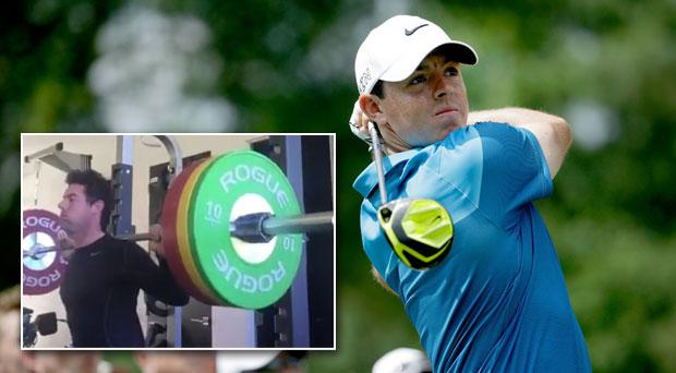 Rory McIlroy has defended his weight training regime
