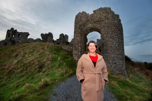 Sinéad Moore told the Irish Independent that she hopes her canvassing will secure her a solid base. Photo: Mark Condren