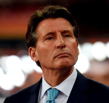 Sebastian Coe confirmed that he would not hesitate to seek the ultimate sanction for any nation guilty of attempting to cover up drug-taking: AFP/Getty Images
