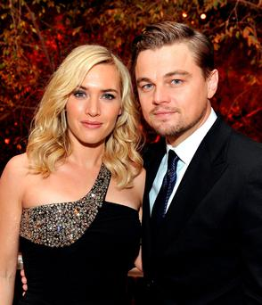 Just friends: Leonardo DiCaprio called Kate Winslet, who has been his friend since they filmed 'Titanic' together in 1997, his 'homegirl' at last Sunday's Baftas.