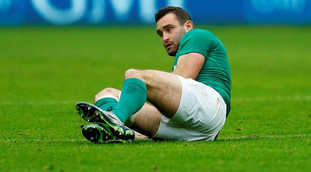 Dave Kearney suffered an injury against France which rules him out of Ireland's game against England: Reuters / Andrew Boyers