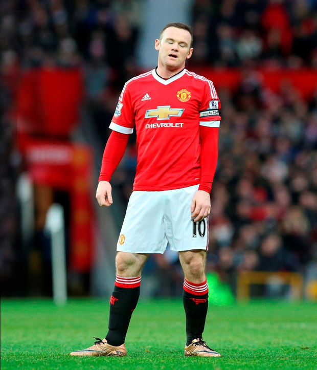 Manchester United striker Wayne Rooney is set to be sidelined for six weeks: Martin Rickett/PA Wire
