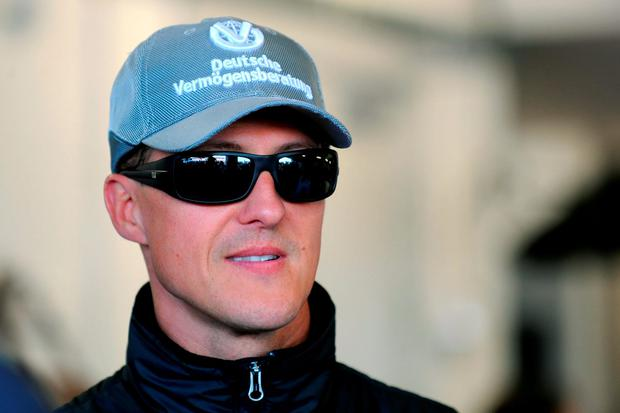 It has been more than two years since Michael Schumacher sustained horrific brain injuries in a freak skiing accident: Anna Gowthorpe/PA Wire.