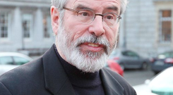 Gerry Adams. Photo: Stephen Collins/Collins Photos