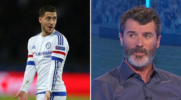 Roy Keane pulled no punches with his assessment of Eden Hazard last night