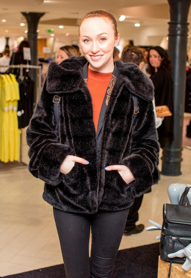 January Russell pictured at the Arnotts SS16 Season Launch Event. Picture: Anthony Woods