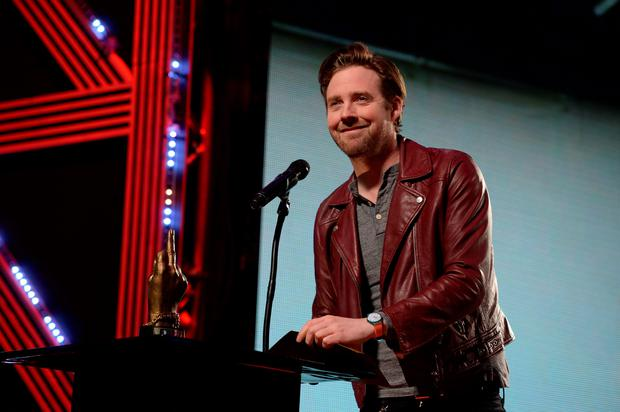 Ricky Wilson presents the Best British Band Award on stage during during the NME Awards 2016 with Austin, Texas, at the O2 Brixton Academy, London. Photo: PA