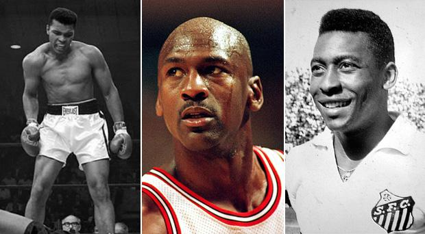 An Irishman has made it onto a list which includes sporting giants Muhammad Ali, Michael Jordan and Pele
