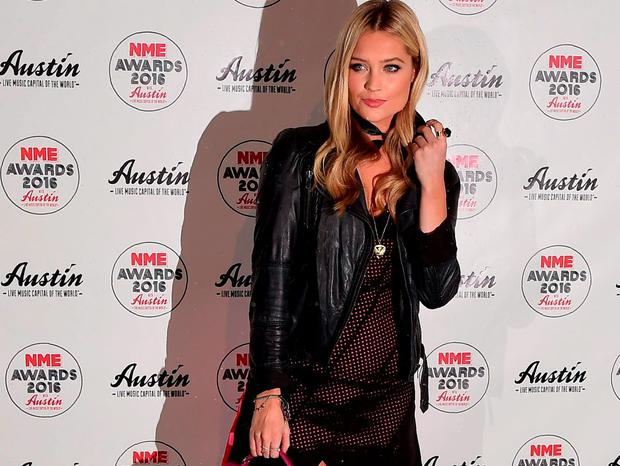 Laura Whitmore at the NME Awards 2016 at the O2 Brixton Academy, London
