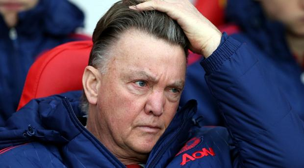 Louis van Gaal's time is surely up at Manchester United Photo: AP