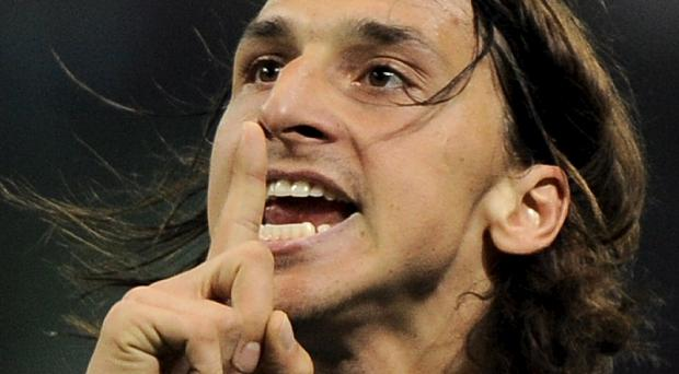 Zlatan Ibrahimovic has been linked with a move to Manchester United