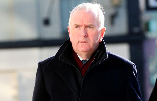 Former Director of Finance at Irish Life and Permanent, Peter Fitzpatrick (63). Photo: Collins Courts