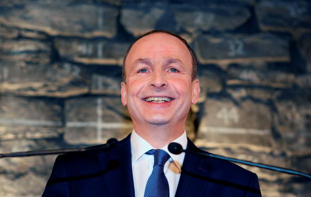 Fianna Fail leader Micheál Martin. Photo: Tom Burke