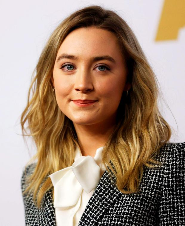 Saoirse Ronan has landed a role in On Chesil Beach (REUTERS/Mario Anzuoni)