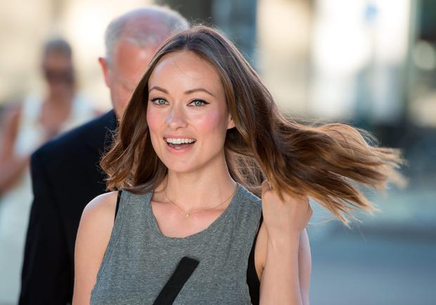 Olivia Wilde arrives at the Ghetto Film School 10th annual apring benefit at The Standard Biergarten on June 18, 2014 in New York City. (Photo by Dave Kotinsky/Getty Images)