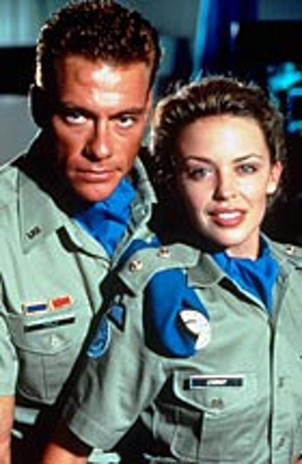 Kylie Minogue and Jean-Claude Van Damme star in Street Fighter