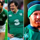 Dave Kearney, Mike McCarthy and Sean O'Brien are out of the Six Nations