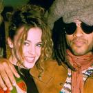 Kylie Minogue and Lenny Kravitz. Photo: Getty