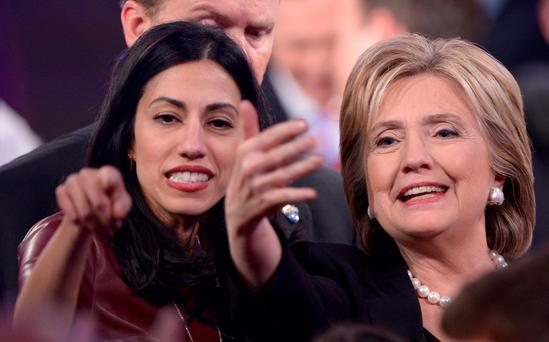 Someone to watch over me: Huma Abedin has been Hillary Clinton's right-hand woman for almost a decade.