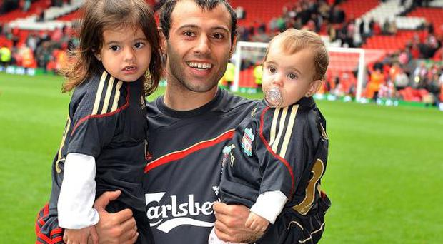 Javier Mascherano during his time at Liverpool