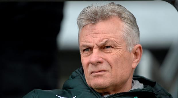 Ruud Dokter says that outsiders will be considered when the FAI sit down to replace departing U-19 manager Paul Doolin. Photo: Sportsfile