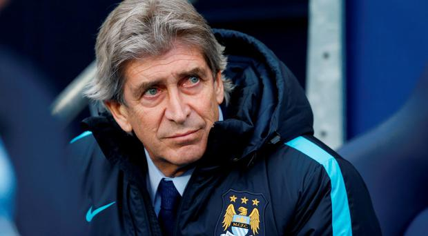 'Pellegrini has been criticised in the past for refusing to husband his resources in order to conserve energies for further down the line'. Photo: Reuters / Andrew Yates