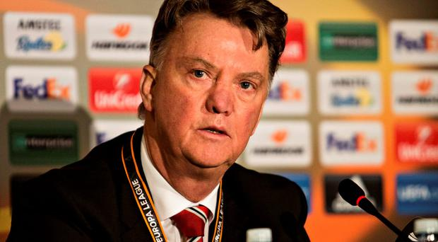 Louis Van Gaal is under pressure after Manchester United's latest defeat. Photo: AP