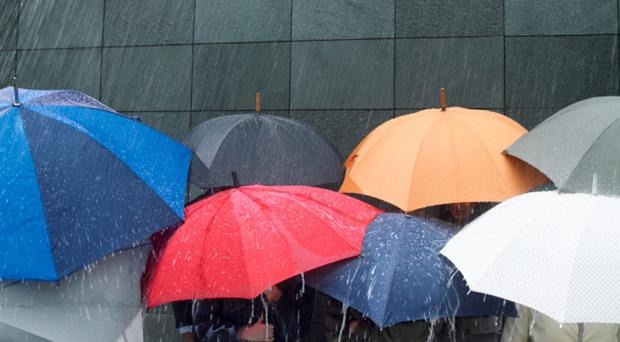 Weather warning in place as heavy rain hits the country