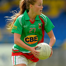 Sarah Rowe in action for Mayo Photo: Oliver McVeigh / SPORTSFILE