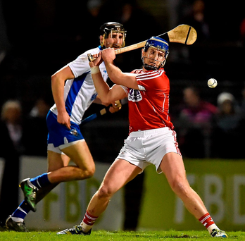Cork's Patrick Horgan scores his side's goal Photo: Brendan Moran / SPORTSFILE