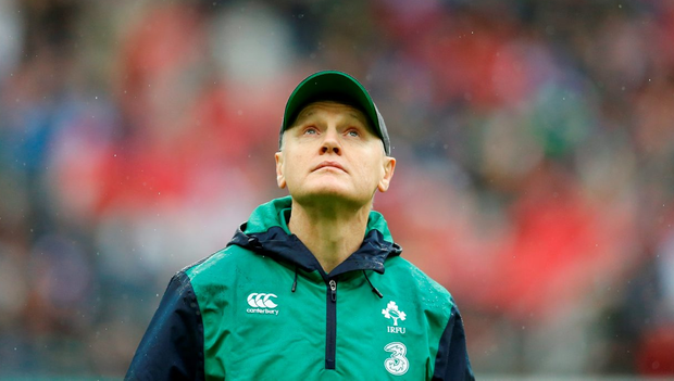 'With some tweaks by Joe Schmidt (p) the capacity is there for a strong performance in Twickenham' Photo: Reuters
