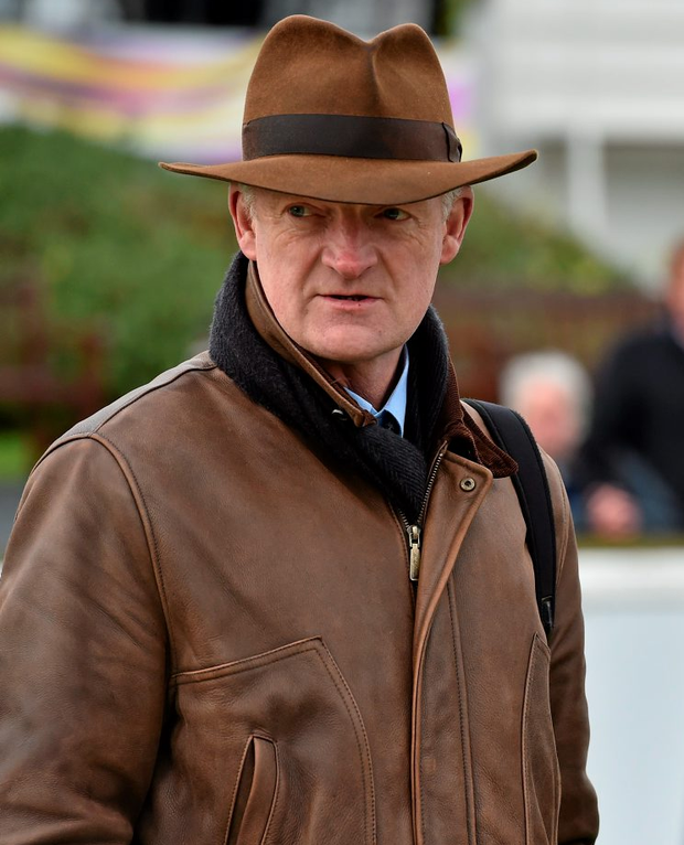 Trainer Willie Mullins Photo: Matt Browne/Sportsfile