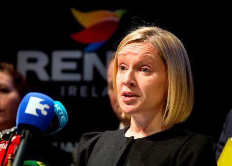 """COMPLAINTS: Renua's Lucinda Creighton would not say who was behind the alleged """"dirty tricks"""" campaign to discredit her. Photo: Frank McGrath"""