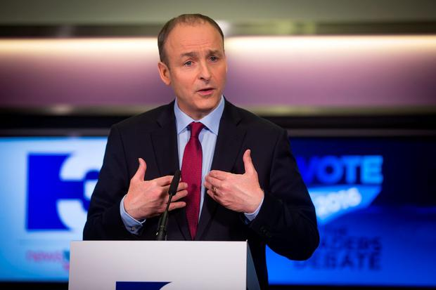 BOOST: FF leader Micheal Martin's popularity has risen in latest poll. Photo: Arthur Carron