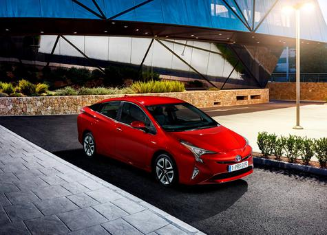 STRIKING: The fourth generation of Toyota's pioneering hybrid, the Prius, grows in width and length and adds safety features