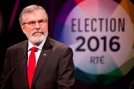 'Gerry Adams said on RTE radio last Thursday that a strategy for Irish unity was a
