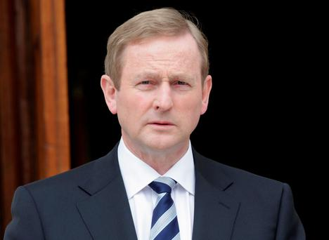 Slip: Enda Kenny's popularity has dropped in this latest poll Photo: Chris Jackson/Getty Images