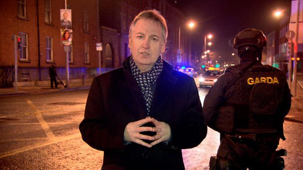 Armed response units on the streets of Dublin (Feb 2016). - Gangsters at War airs at 9pm this Monday 22nd February, 2016, TV3