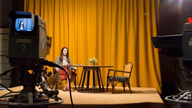 Rebecca Hall in Christine, a film about the death of reporter Christine Chubbuck