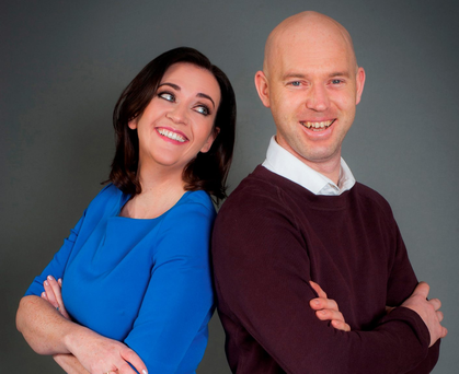 RTÉ journalist Vivienne Traynor with her nephew Martin Traynor, to whom she donated a kidney Photo: Conor McCabe