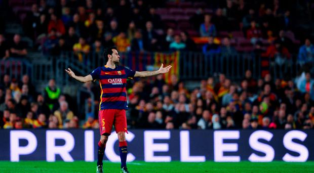 Sergio Busquets is often an under-appreciated part of Barcelona's success. Photo: David Ramos/Getty Images.
