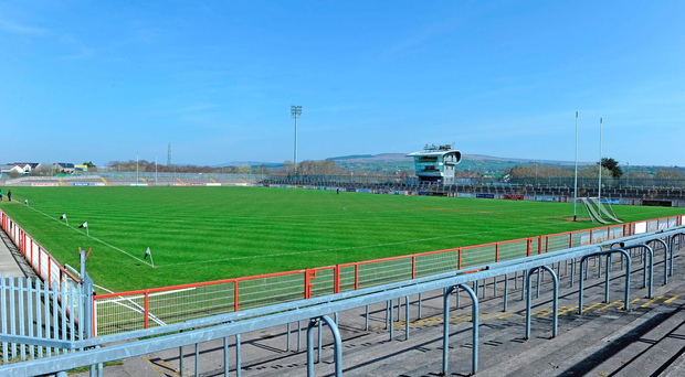 A general view of Healy Park. Photo: Sportsfile