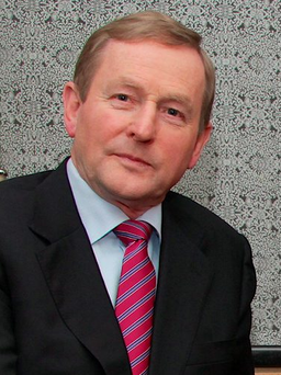 Enda Kenny spoke of the inspiration behind his continued drive in politics Photo: Mike Shaughnessy