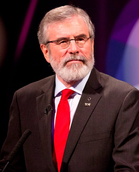 The decision by Sinn Féin to unite with groups opposed to water charges could also result in [Gerry] Adams leading a bigger block than Fianna Fáil Photo: Oisin McHugh FusionShooters.