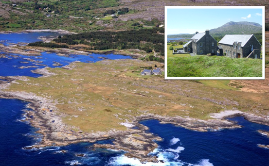 This West Cork estate has 94 acres, its own beaches and pier, and there's even room to land a helicopter