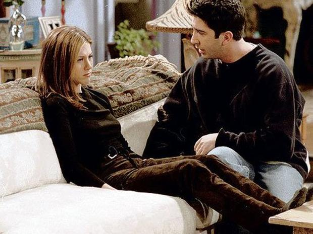 Rachel and Ross had their fair share of conflicts in the TV show Friends. Photo: NBC.