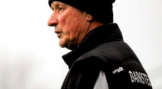 Brian Cody looks on from the sideline during Kilkenny's win over Tipperary. Photo: Dean Cullen / Sportsfile