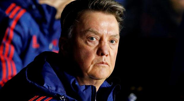 'For Louis van Gaal there was no resting his key players ahead of more important fixtures. The FA Cup represents United's most likely route to a trophy this season' Photo: Reuters / Andrew Yates